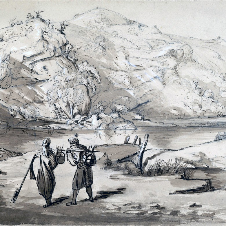 Scene_at_Bhimgoda_near_Haridwar_,_February_1847