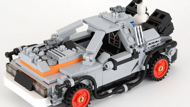 legodelorean
