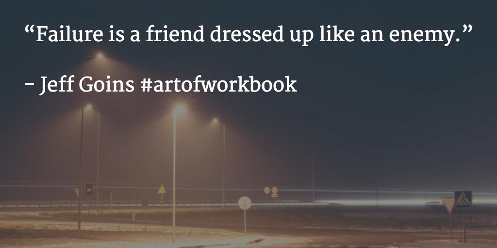 Jeff Goins #artofworkbook